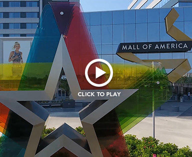 Bloomington MN home of Mall of America video