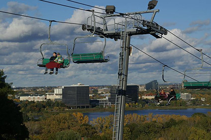 Hyland Hills Fall Chairlift Rides