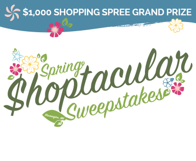 Bloomington Shoptacular Sweepstakes