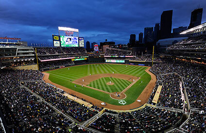 Target Field in Minneapolis, MN